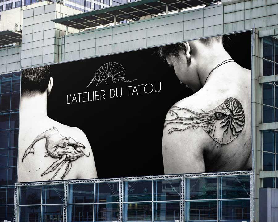Banderole vinyle Atelier du Tatou